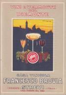 "PUBBLICITA' ADVERTISING REKLAM WERBUNG PUBLICIDAD ""G.MUGGIANI FRANCESCO BROVIA STREVI VINI E VERMOUTH - Advertising"