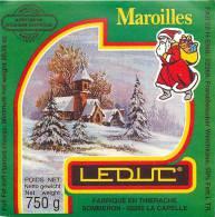 Etiquette. Ref. 084. MAROILLES - Fabriqué En TIERACHE - LA CAPELLE - Fromage