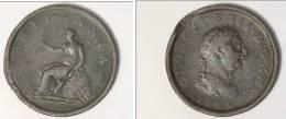 GRANDE-BRETAGNE 1 PENNY  1806 - 1662-1816 : Acuñaciones Antiguas Fin XVII° - Inicio XIX° S.