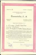 O) 1973 MEXICO, FIVE STOCK- Nº 27, DONNATELLA S.A - Altri