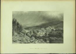 "An 1835 Print Of ""Newby Bridge, Lancashire"" By ´R Roberts´. - Prints & Engravings"