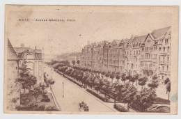 (RECTO / VERSO) METZ EN 1924 - AVENUE DU MARECHAL FOCH - Metz