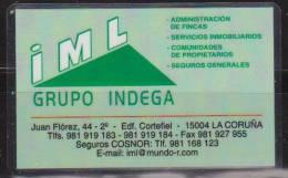Calendario Bolsillo IML Grupo Indega 2012 Plastificado Pocket Calendar Kalender Calendrier Kalendar - Calendarios