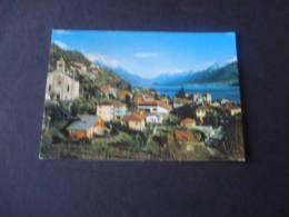 Gravedona (co) - Panorama Vg 1979 Colori Fg - Como