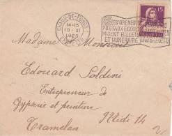 No 128 Sur Petite Lettre 12 X 9,5 Oblitérée Le 10.XI.1920 - Suisse
