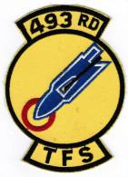 PATCH ECUSSON 493 RD TFS - Aviation