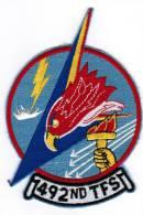 PATCH ECUSSON 492 ND TFS - Aviación