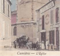 CPA - 51 - CUMIERES - L'église - Autres Communes