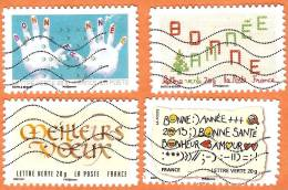 FR Adh Meilleurs Voeux 2012 2013 - Adhesive Stamps