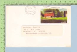 Pre Paid USA Post Card  To Newport VT In 1997 From The Chronicle   Carte Postale - Etats-Unis