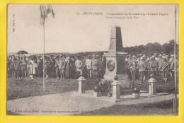 90 PETIT CROIX Inauguration Du Monument De L'aviateur Pégoud - Francia