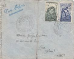 LETTRE SENEGAL 1948,  GRAND CACHET DE DAKAR AEROPORT Pour La FRANCE/2770 - Senegal (1960-...)