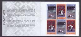 MD 2003-463-4 EUROPA CEPT, MOLDAVIA, Booklet, MNH - Moldawien (Moldau)