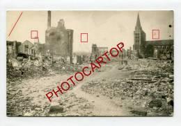LISIEUX-Ruines De La Guerre 39-45-Cathedrale St PIERRE-Carte Photo-1947-Cachet Gare - Lisieux