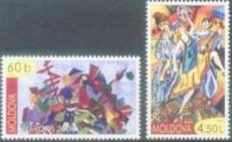 MD 2006-549-50 EUROPA CEPT, MOLDAVIA, 2v, Mint, ** - Moldavie