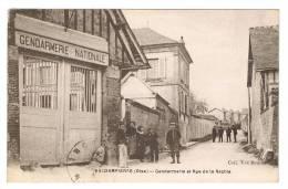 VALDAMPIERRE  - Gendarmerie Et Rue De La Rachie - Autres Communes