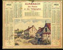 Calendrier 1935 Envions De Caen. - Big : 1921-40