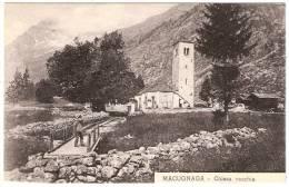 MACUGNAGA Chiesa Vecchia Verbania Italie - Verbania