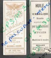 étiquettes HUILE De Vaseline Pour Le Graissage Des Cycles Et Autos à ORANGE 84 Vaucluse - Motor Bikes