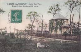 CPA - 76 - SAINT ETIENNE DU ROUVRAY - Grille Val L'abbé -  Vieux Château Rondeaux - RARE !!!!! - Saint Etienne Du Rouvray