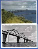 Dänemark, 2 Karten, Storstromsbroen - Dänemark