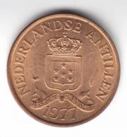 @Y@   Nederlandse Antillen    2 1/2 Cent 1977   UNC   (C148) - Netherland Antilles