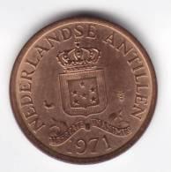 @Y@   Nederlandse Antillen    1 Cent 1971  UNC   (C161) - Nederlandse Antillen