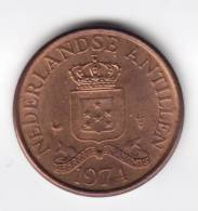 @Y@   Nederlandse Antillen    1 Cent 1974  UNC   (C170) - Antilles Neérlandaises