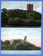 Dänemark, 2 Karten, Koldinghus Slotsruin, 1930-1950 - Dänemark