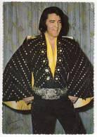MUSICIANS SINGER ELVIS PRESLEY 1977. BIG POSTCARD - Music And Musicians