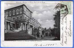 PORTUGAL - QUELUZ, Fachada Do Palazio Real Vista Do Poente, 1905, 6 Eckiger Stempel - Portugal