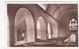 BOLDRE -ST JOHNS CHURCH INTERIOR - England