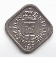 @Y@   Nederlandse Antillen    5 Cent 1980  UNC   (C180) - Nederlandse Antillen