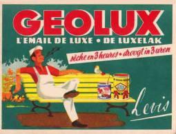 GEOLUX PEINTURE LEVIS buvard