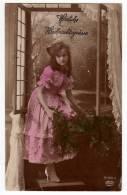 PHOTOGRAPHS CHILDREN GIRL AMAG Nr. 61926/5 OLD POSTCARD 1918. - Photographs