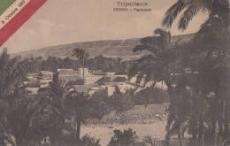 DERNA -PANORAMA VG 1911 BELLA FOTO D´EPOCA ORIGINALE 100% - Libya
