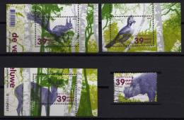 Pays Bas 2004 - écureuil Biche Sanglier Geai - Timbres