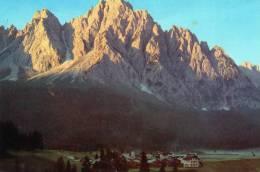 """Bellissima  Cartolina   Anni 80      """" Luci Dell'alba A CIMA SAPPADA - M.1292  """" - Udine"""