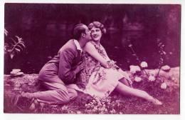 PHOTOGRAPHS COUPLE  A COUPLE OLD POSTCARD - Photographs