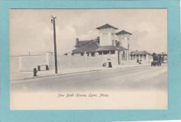 LYNN  -  New  Bath  House  - BELLE  CARTE PRECURSEUR - - Etats-Unis