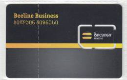 Georgia Beeline Bisness GSM SIM Card With Chip Not Used RARE!!!