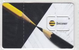 Georgia Beeline NEW Design!!! GSM SIM Card With Chip Not Used - Georgië