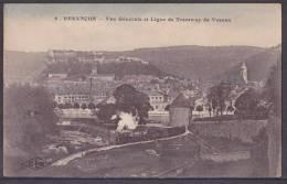 25) Besançon.- Vue Générale Et  Ligne De Tramway De Vesoux - Besancon