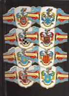 8 BIG Cigar Bands  -  Alvaro  -  Heraldic - Bauchbinden (Zigarrenringe)