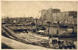 AK Mannheim Ca. 1930 (?) Hafen / Rhein Boote Schiffe Dampfer / Ludwigshafen - Mannheim