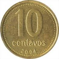 Argentinien - 10 Centavos 2004 KM 107 -vz - Argentine