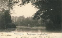 Anderlues - Les Loges : Vue De L'étang - 1908 ( Voir Verso ) - Anderlues