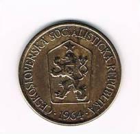 TSJECHOSLOWAKIJE  1 KORUNA  1964 - Tchécoslovaquie