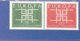 CEPT Ornament Bundesrepublik Deutschland 406-407  ** Postfrisch - Europa-CEPT