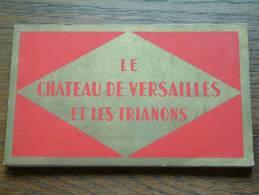 LE CHATEAU DE VERSAILLES ET LES TRIANONS / Carnet 20 Kaarten ( Zie Foto´s Voor Details ) !!
